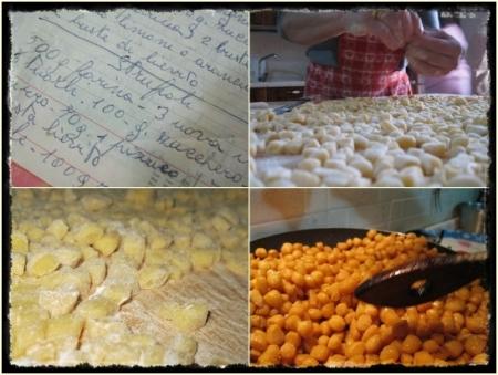 Gli Struffoli, preparazione - foto A. Di Costanzo