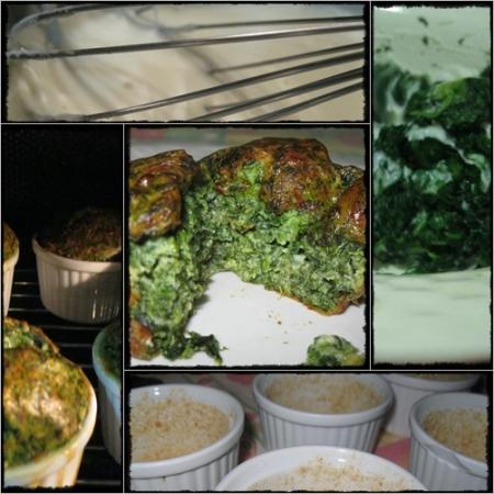 Tortino di spinaci di Lilly Avallone, la preparazione - foto A. Di Costanzo