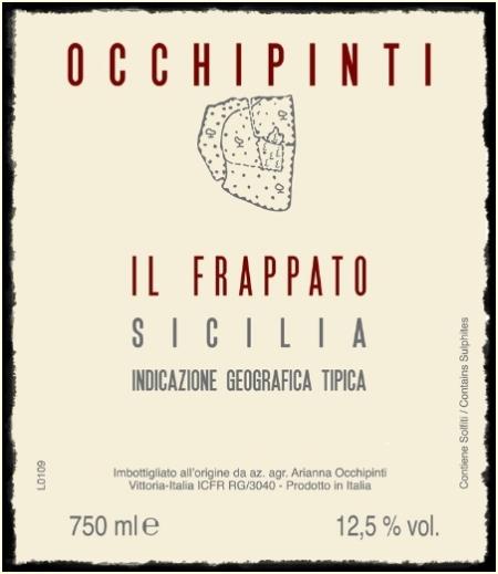 Sicilia Il Frappato 2010 Arianna Occhipinti - foto L'Arcante