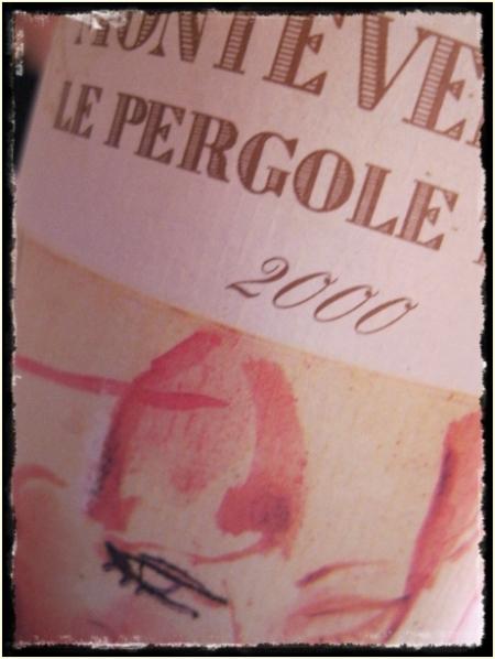 Toscana igt Le Pergle Torte 2000 Montevertine - foto A. Di Costanzo