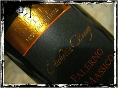 Falerno del Massico rosso Etichetta Bronzo 2008 Masseria Felicia - foto A. Di Costanzo