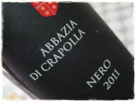 Nero 2011 Abbazia di Crapolla - foto A. Di Costanzo