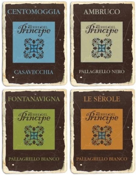 Le Etichette di Terre del Principe