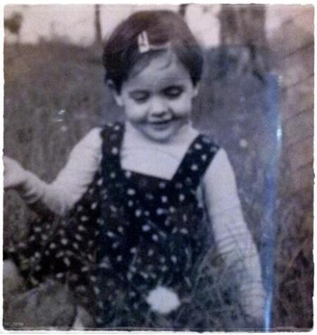 Ancora Maria Felicia da piccola