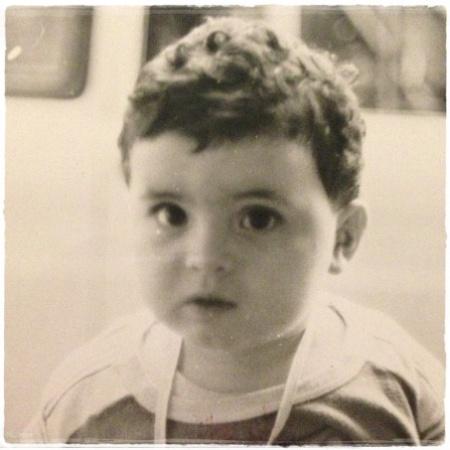 Antonio Papa, da piccolo