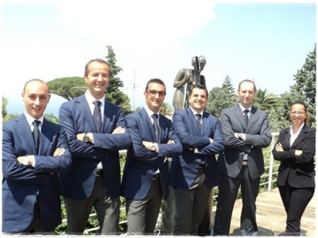 Lo Staff 2013 al Capri Palace Hotel