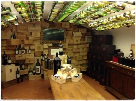 Enoteca Pinchiorri, Sala Degustazione - foto L'Arcante