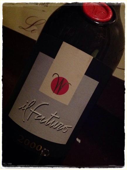 Toscana rosso Il Futuro 2000 Wilhelm Il Colobaio di Cencio - foto L'Arcante