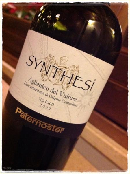 Aglianico del Vulture Synthesi 2009 Paternoster - foto L'Arcante