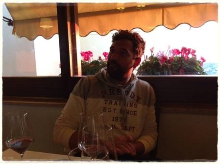 Nando Salemme, patron dell'Abraxas Osteria - foto A. Di Costanzo