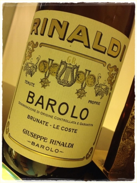 Barolo Brunate - Le Coste 2009 Rinaldi