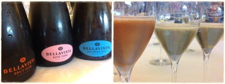 Bellavista, Brut 2008, Rosé 2008, Pas Operé 2007 - foto L'Arcante