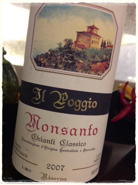 Chianti Classico Riserva Il Poggio 2007 Fattoria di Monsanto - foto A. Di Costanzo