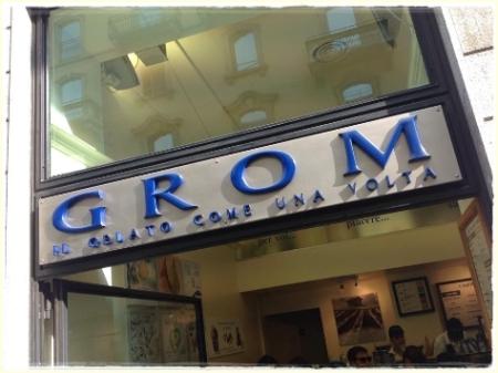 Milano, Grom - foto A. Di Costanzo