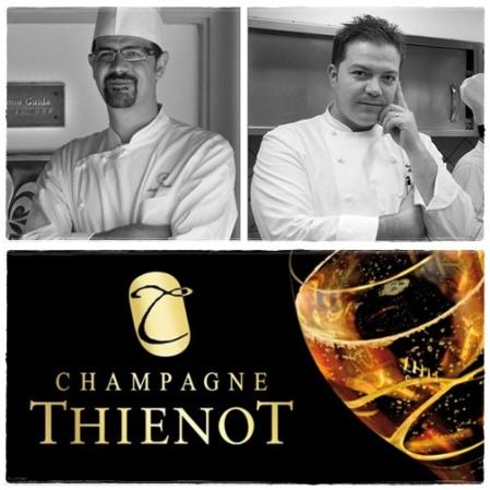 Antonio Guida, Andrea Migliaccio, Champagne Thienot
