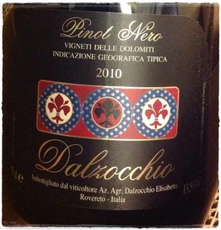 Vigneti delle Dolomiti Pinot Nero 2010 - Elisabetta Dalzocchio, foto A. Di Costanzo