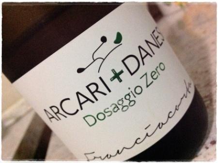 Franciacorta Dosaggio Zero Arcari + Danesi - foto L'Arcante
