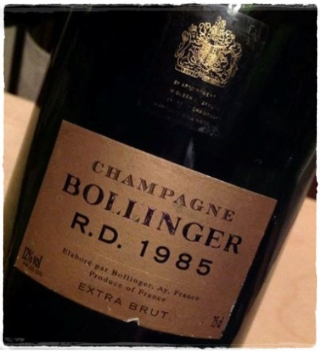 Champagne R.D. 1985 Bollinger - foto A. Di Costanzo
