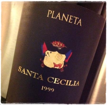 Sicilia rosso Santa cecilia 1999 Planeta - foto A. Di Costanzo