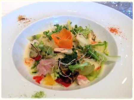 Minestra di verdure e frutta di stagione... - foto L'Arcante