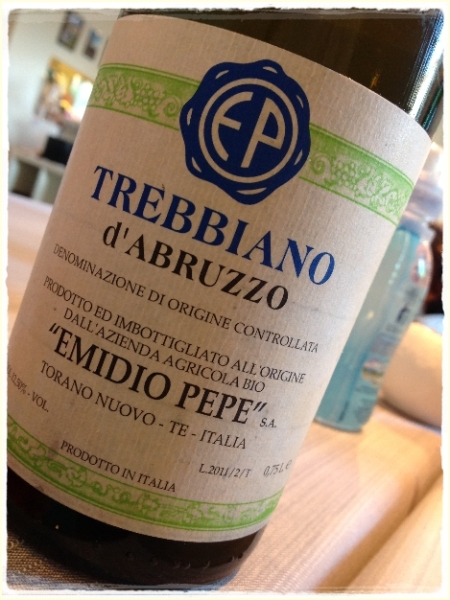 Trebbiano d'Abruzzo 2011 Emidio Pepe - foto L'Arcante