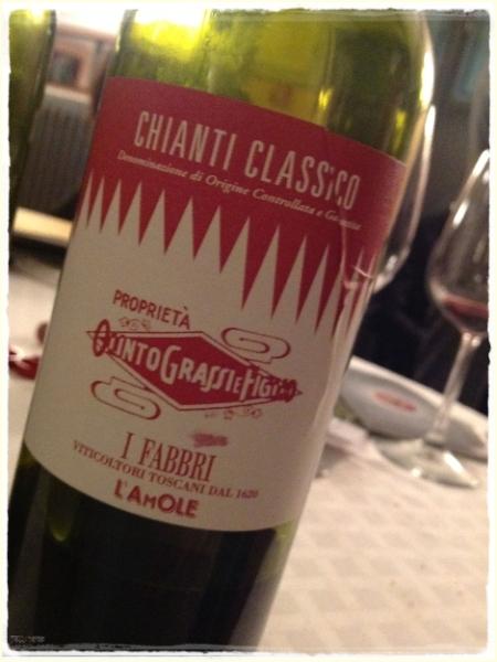 Chianti Classico 2013 I Fabbri - foto L'Arcante