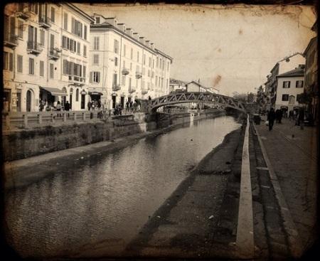 Al Ponte de Ferr, il Naviglio grande foto L'Arcante