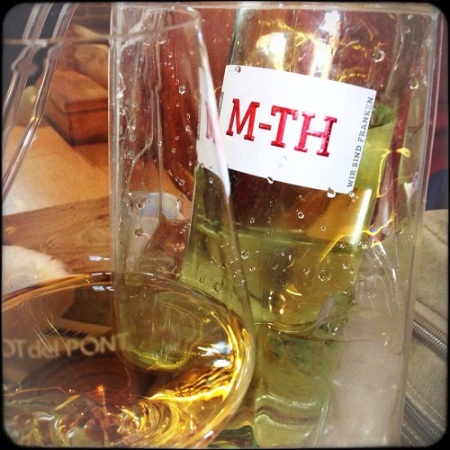 Rebelot, il vino, Muller Thurgau - foto L'Arcante