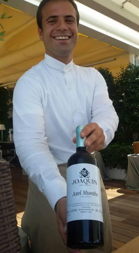 Joaquin dall'isola 2014 - foto L'Arcante