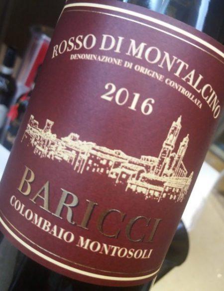 Rosso di Montalcino 2016 Baricci - foto A. Di Costanzo