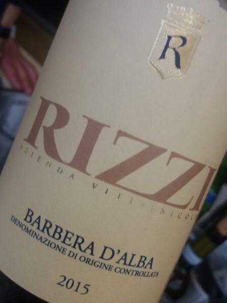 Barbera d'Alba 2015 Rizzi - Foto A. Di Costanzo