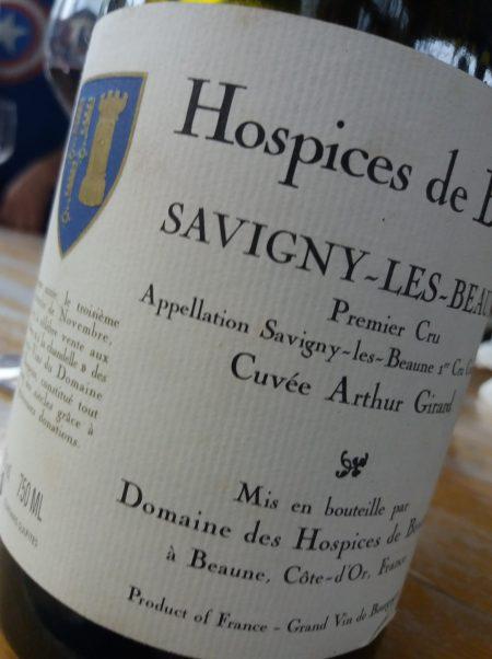 Savigny-Les-Beaune Cuvée Arthur Girard 2005 Hospices de Beaune - Foto L'Arcante