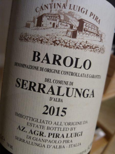 Barolo Serralunga 2015 Azienda Agricola Luigi Pira - foto L'Arcante