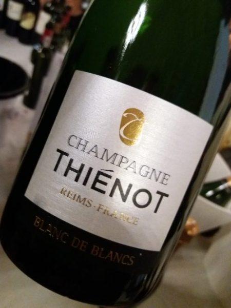 Champagne Blanc de Blancs Thiénot - foto A. Di Costanzo