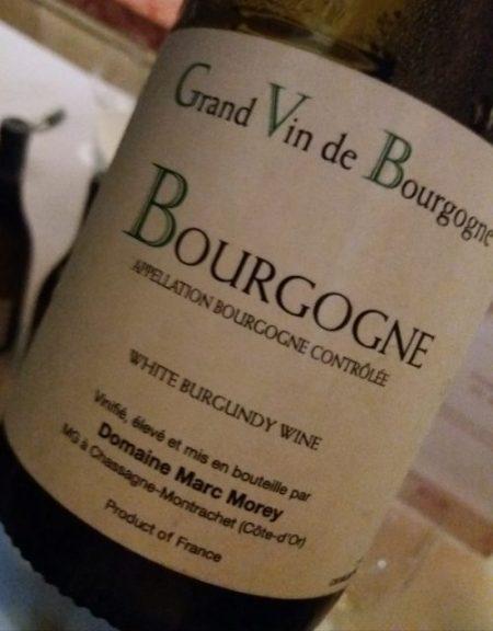 Bourgogne blanc 2016 Domaine Marc Morey - foto A. Di Costanzo