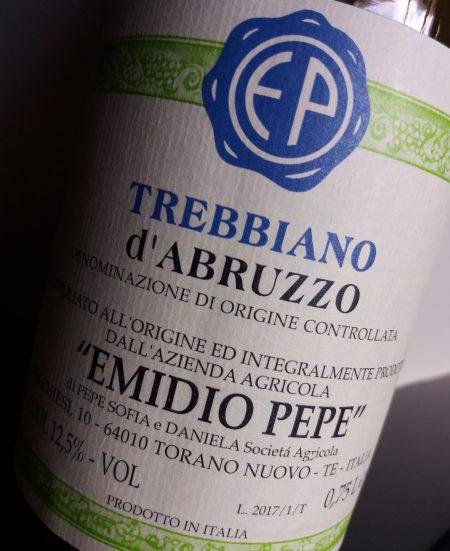 Trebbiano d'Abruzzo 2017 Emidio Pepe - foto A. Di Costanzo
